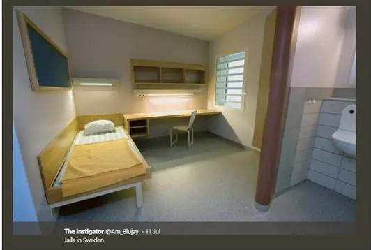 Potret Penampakan Penjara di Swedia ini Bikin Geleng Kepala