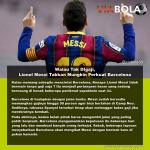 Walau Tak DIgaji, Lionel Messi Takkan Mungkin Perkuat Barcelona